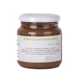 compota de manzana orgánica 250 g
