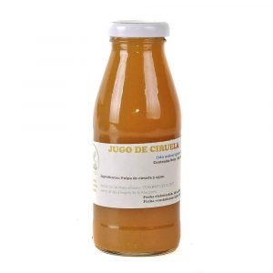 jugo de ciruela orgánico 250 ml