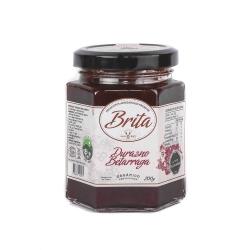 mermelada durazno-beterraga orgánica 200 g