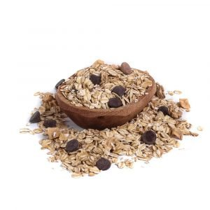 muesli chocolate y manzana orgánico 400 g