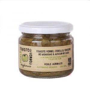 pickle de tomates verdes orgánico 200 g