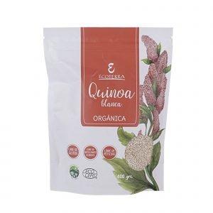 quinoa blanca ecoterra orgánica 400 g