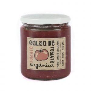 salsa de tomates orgánica 500 g