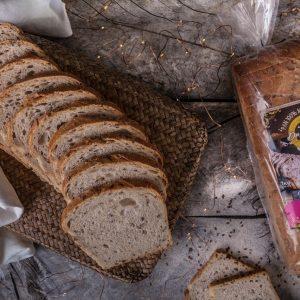 Pan blanco multigrano 100% masa madre 1 kg