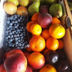 Caja chica de frutas